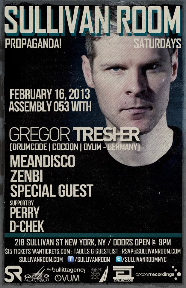 Gregor Tresher flyer